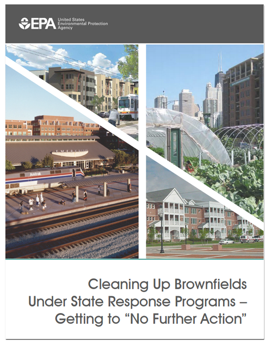 EPA Guide on Achieving No Further Action at Brownfields Sites