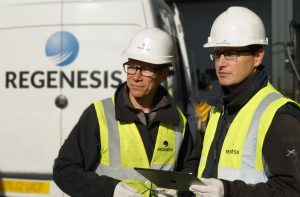 Regenesis Remediation Employees On Location