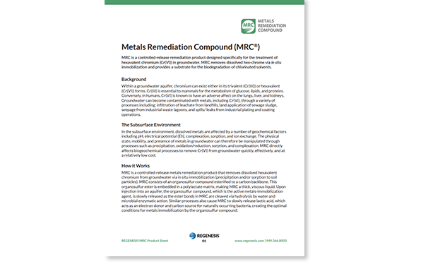 Metals remediation
