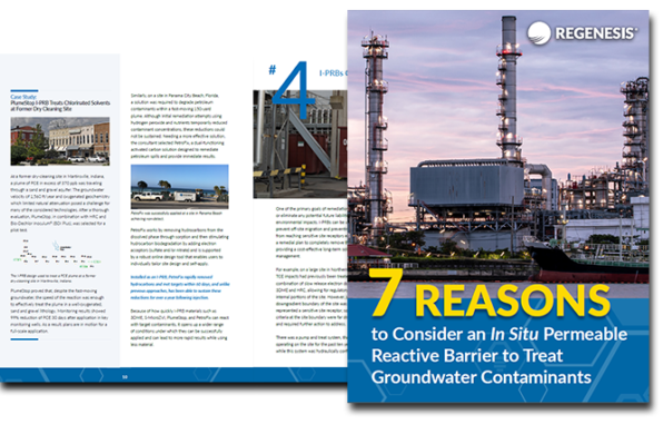 7 reasons to consider an in situ permeable reactive barrier (I-PRB)
