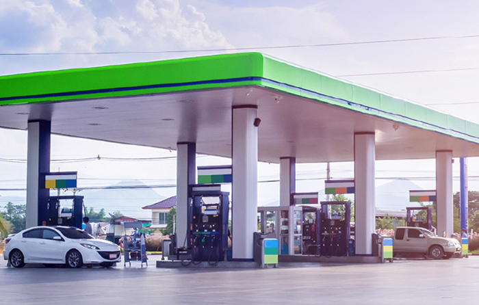 Gas station site