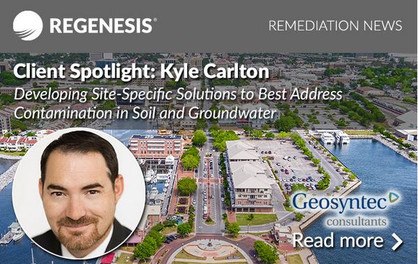 Kyle Carlton, Project Geologist for Geosyntec Consultants, Inc